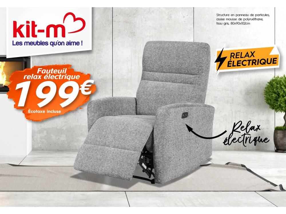 Lapub Promos Fauteuil Relax Électrique re 199€ De roWdCxBe