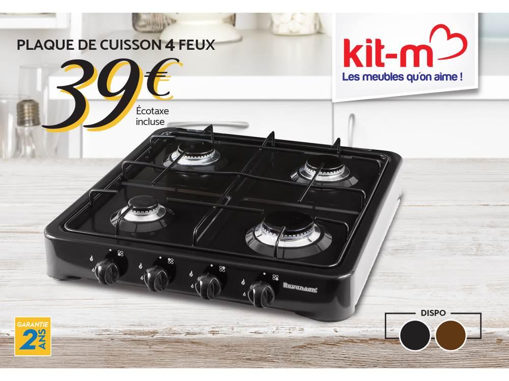 design de qualité 2dd99 6b176 LAPUB.RE - PROMOS DE KIT M - Plaque de Cuisson 4 Feux ...