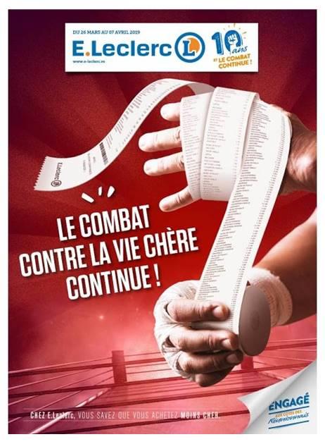 Lapubre Prospectus De E Leclerc Le Combat Continue