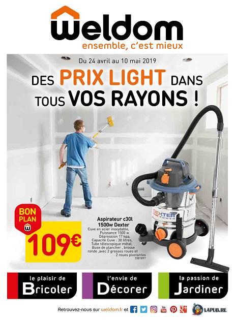 Lapubre Prospectus De Weldom Des Prix Light Dans Vos