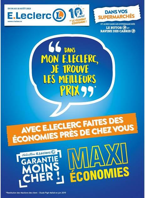 Lapubre Prospectus De E Leclerc Maxi Economies