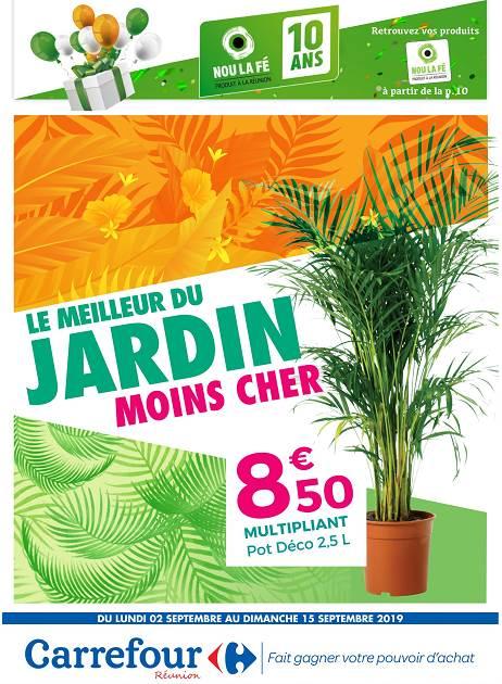 LAPUB.RE - PROSPECTUS DE CARREFOUR - LE MEILLEUR DU JARDIN ...