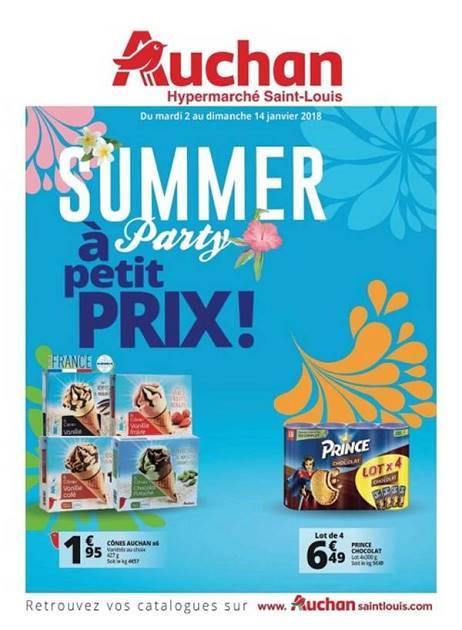 Lapub Re Prospectus De Auchan St Louis Summer Party A