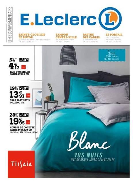 Lapub Re Prospectus De E Leclerc Blancs Vos Nuits Ont