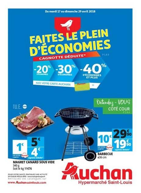 Lapub Re Prospectus De Auchan St Louis Faites Le Plein D