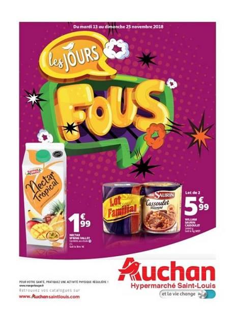 Lapub Re Prospectus De Auchan St Louis Les Jours Fous